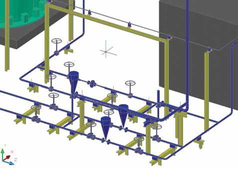 Model Studio Трубопроводы